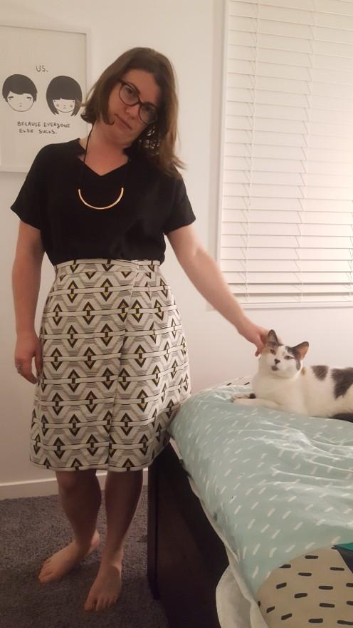 Nita Wrap Skirt